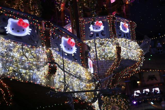 ピューロランドのプロジェクションマッピング「ARIGATO EVERYONE! 光のパーティ」