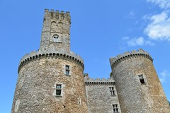 Chateau de Montbrun towers
