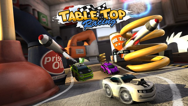Table Top Racing on PS Vita