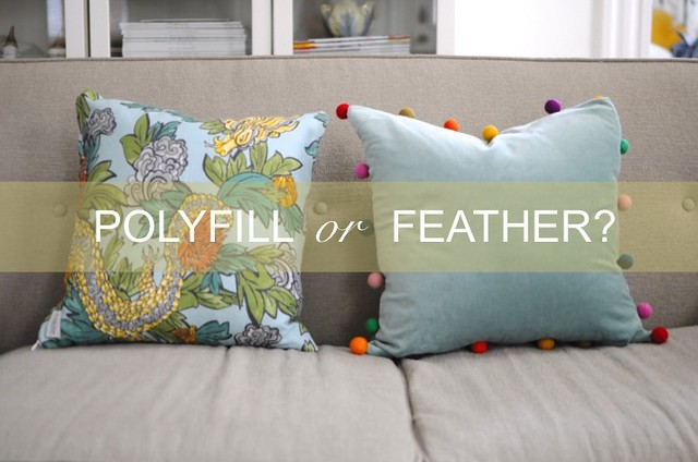 Polyfill Go Haus Go A DIY And Design Blog By Emily May Awesome Feather And Down Pillow Inserts
