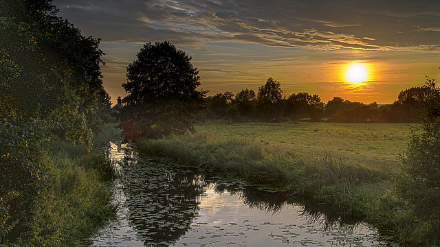 River Roding Sunset