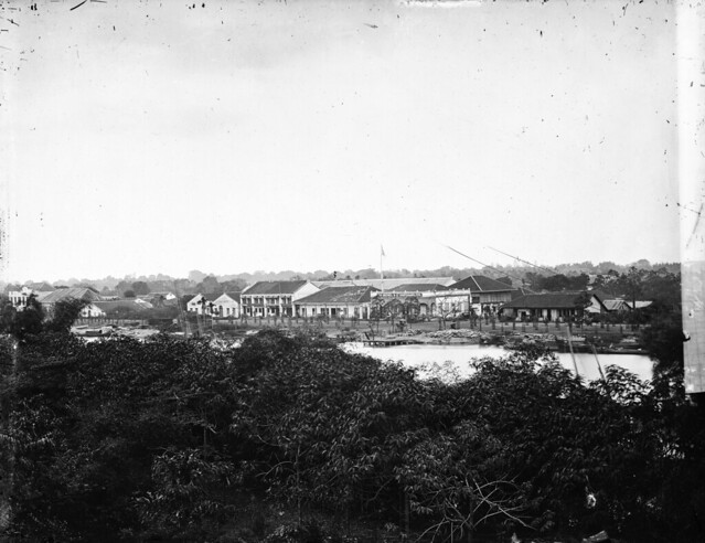 Saigon, Cochin China. Photograph by John Thomson, 1867.