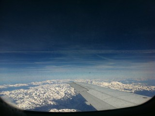 The Alps - en route to Milano