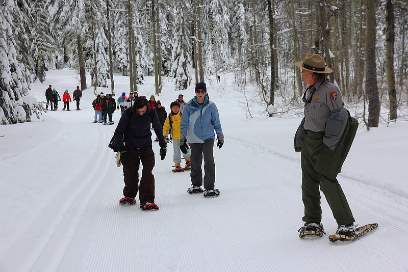 IMG_8367 Ranger-Led Snowshoe Walk
