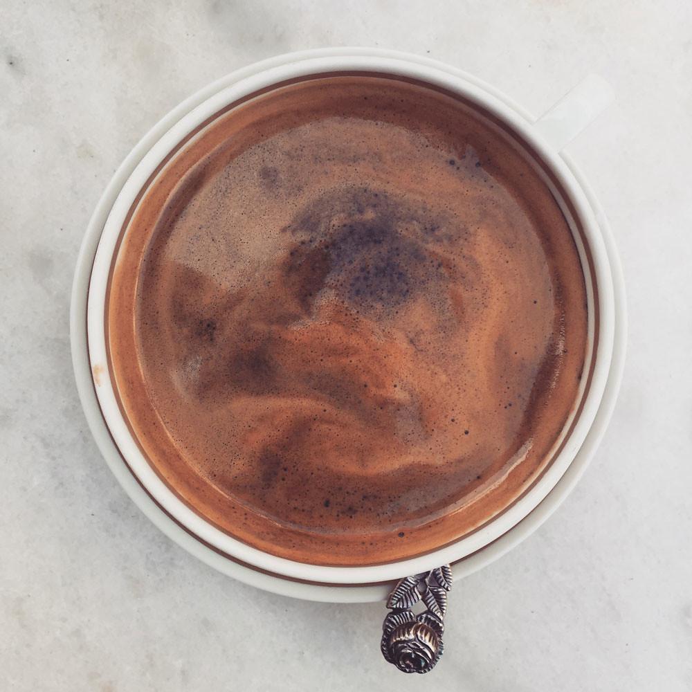 Bohnenkaffee im Lieblingscafé
