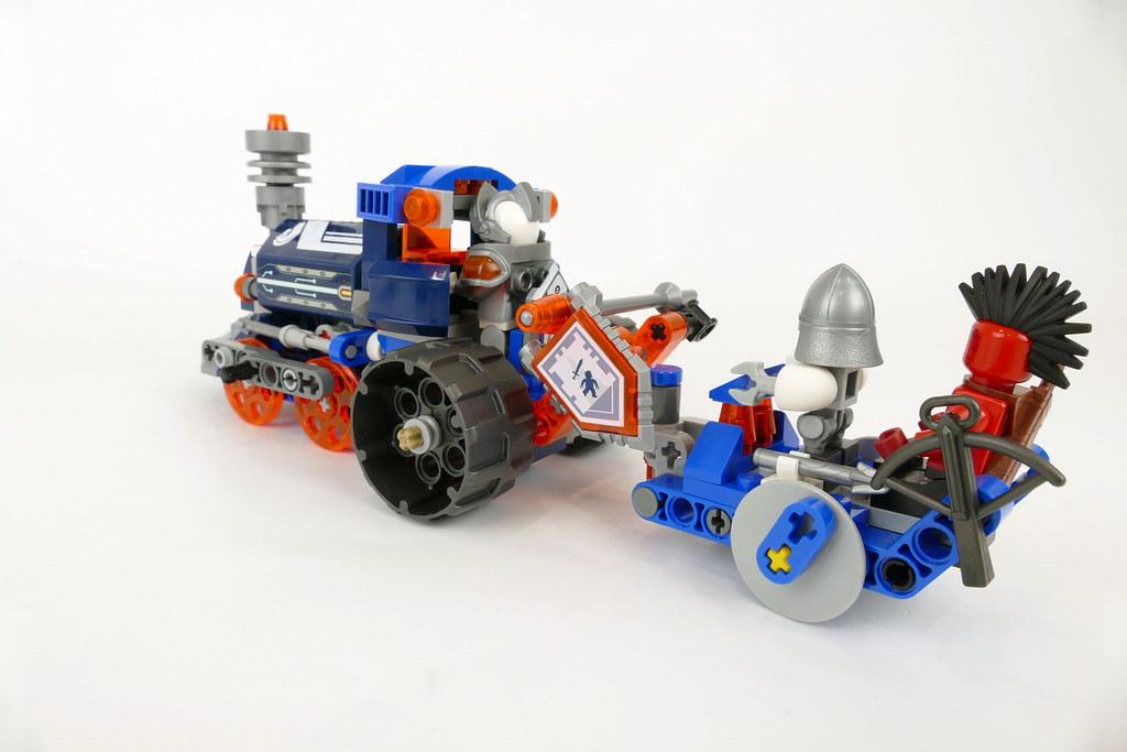 Lance's Train LEGO Nexo Knights 70312 Alternate MOC