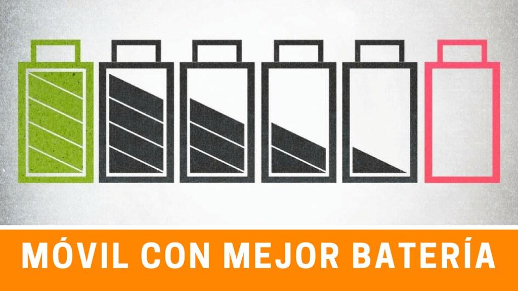 moviles con mejor bateria del mercado