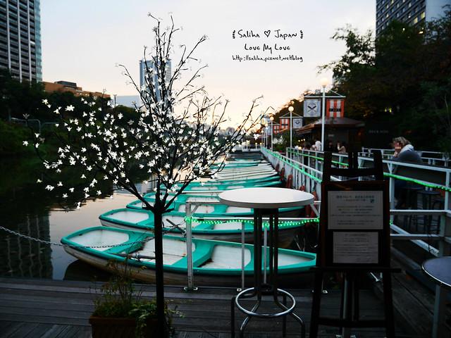 日本東京自由行賞櫻canal cafe水上餐廳 (39)