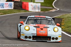 Gulf Racing Porsche 911 RSR GTE AM World Endurance Championship Silverstone 2017 Sportscar Racing News