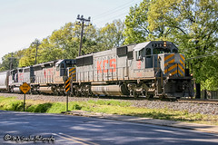 KCS 738 | EMD SD60 | NS Memphis District