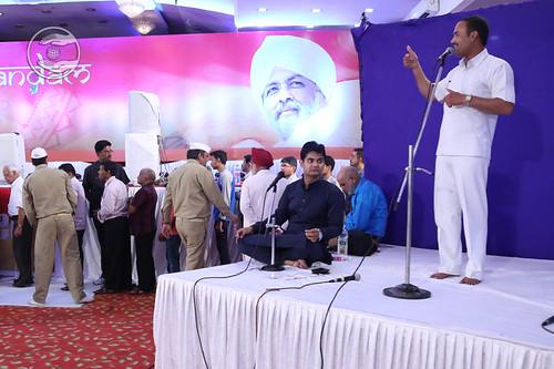 Mahantesh Patil from Khilegaon, expresses his views in Kannada language