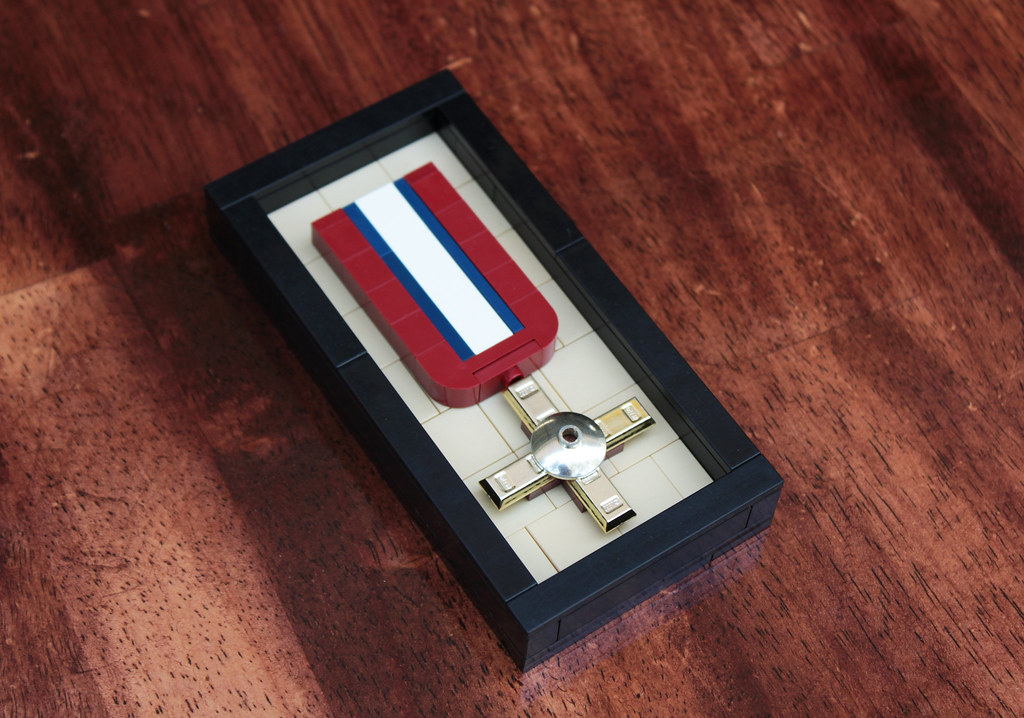 Medal of Valor (custom built Lego model)