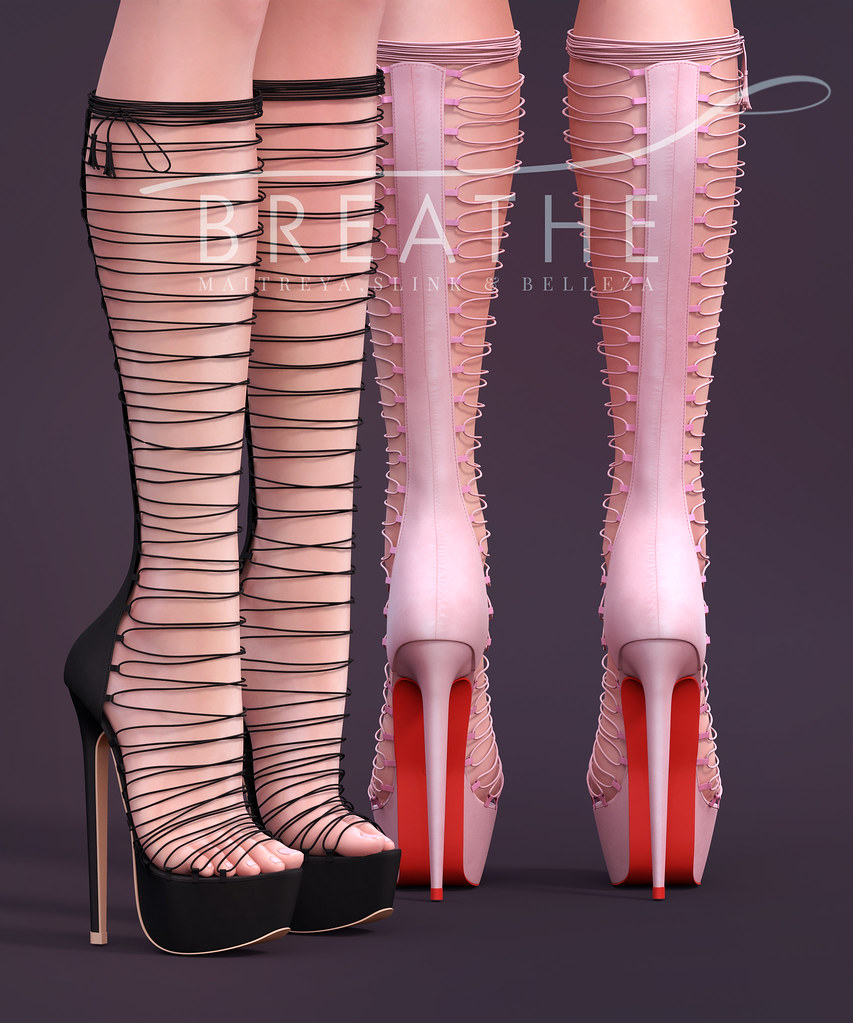 [BREATHE]-Kaycee Heels - SecondLifeHub.com