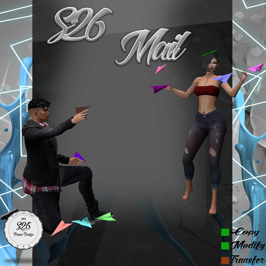 **New Pose S26 Mail** - SecondLifeHub.com