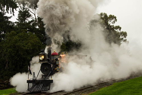 Rogers K88 in the wet at the Plains Railway
