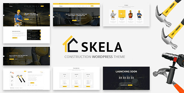 Skela WordPress Theme free download