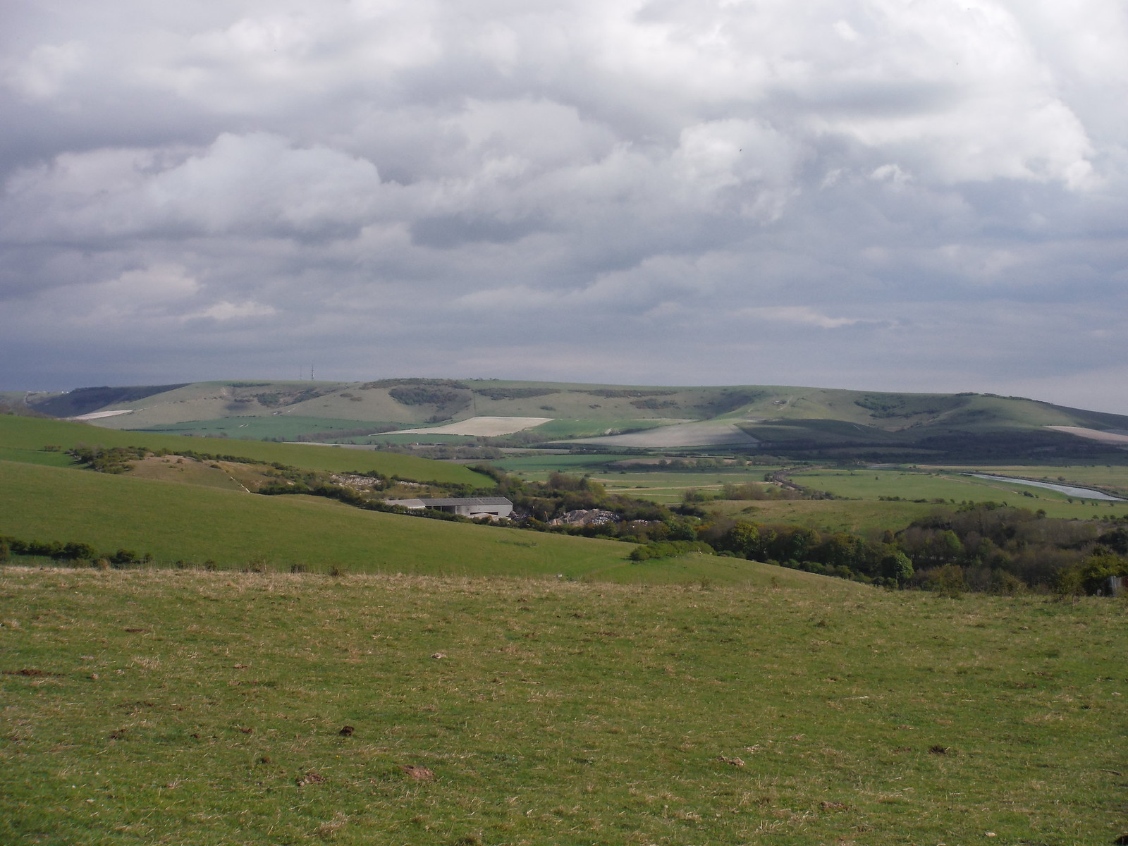 Itford and Beddingham Hills SWC Walk 272 Uckfield to Lewes