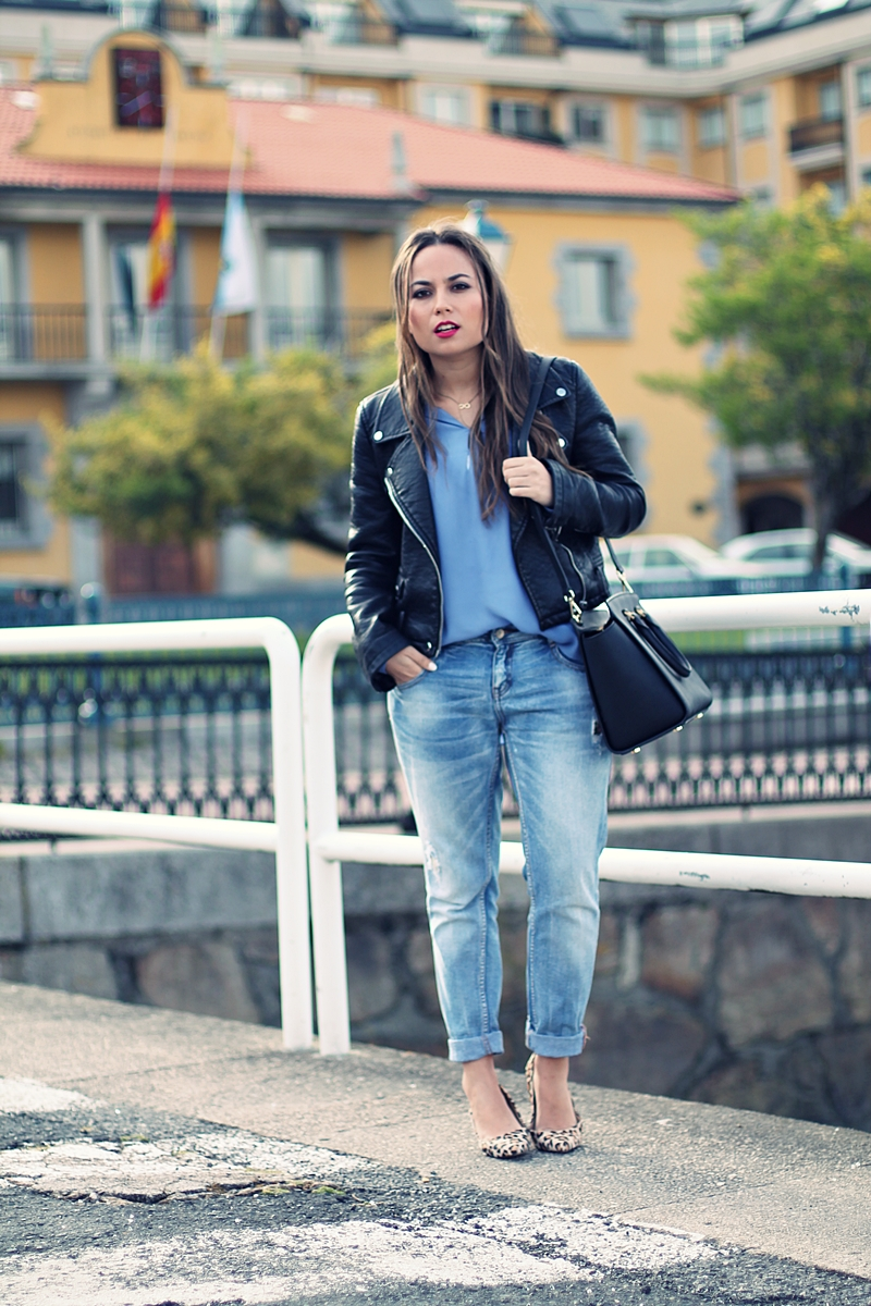 bolso mk, boyfriend jeans