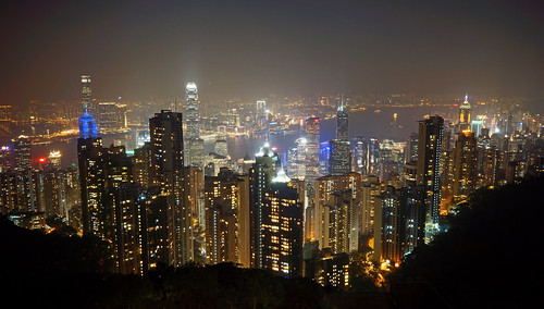 china city light skyline night hongkong licht nacht peak stadt hongkongisland victoriapeak hochhaus 2014 dorenawm nex7 renatedodell