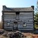 Rear, James Galloway Log House — Xenia, Ohio