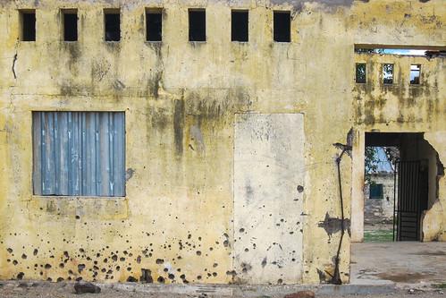 Bullets on walls, Chitado, Cunene