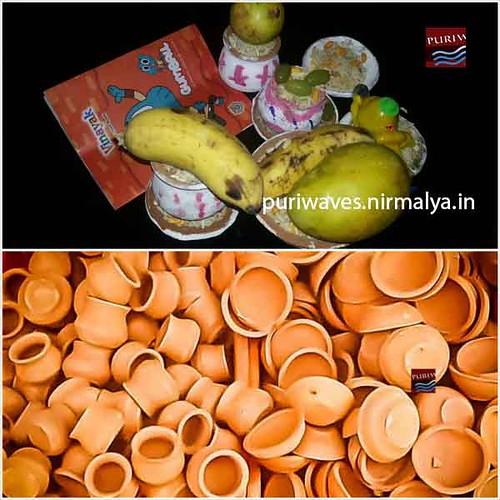 Ghadi Pathuli in Local Market Puri