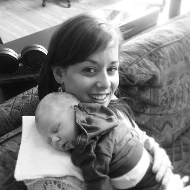 I'm in hog heaven!  Just met my new nephew Jacob in Tacoma. He's perfect!