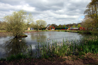 Yateley pond