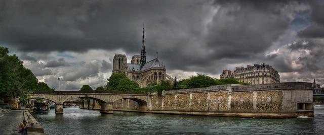 Notre Dame Panorama