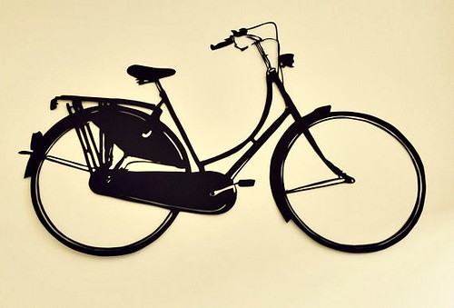 Dutch-Bike-Paper-Cutting
