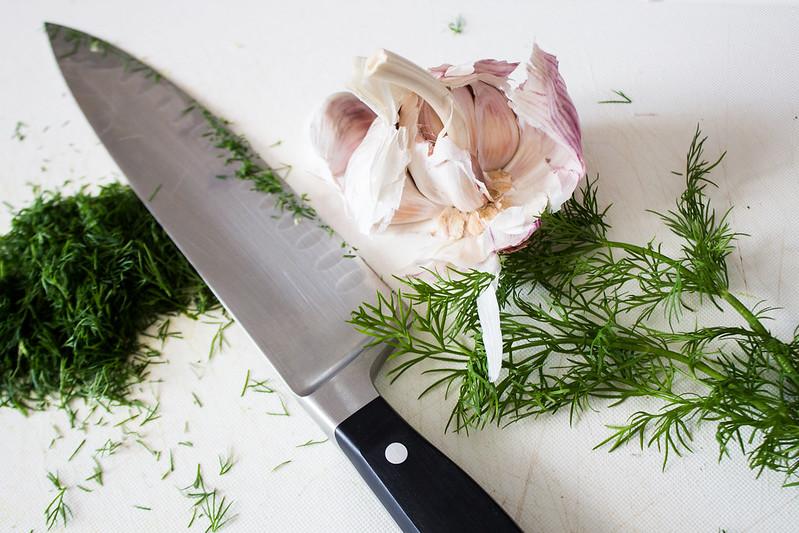 garlic & dill