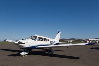 N228AM PA-28, Scone