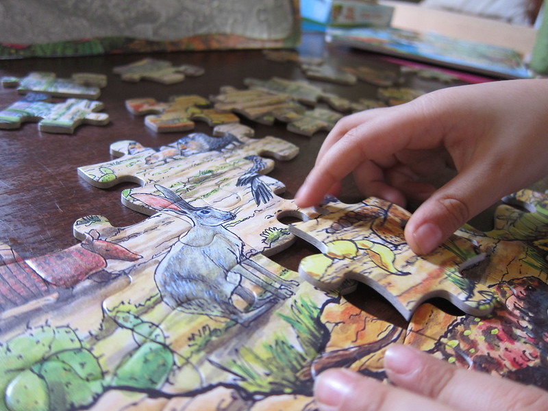 PUZZLES AT HOME