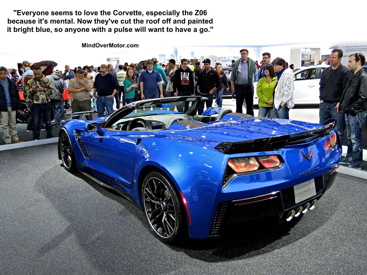 2015 Corvette Z06 Vert