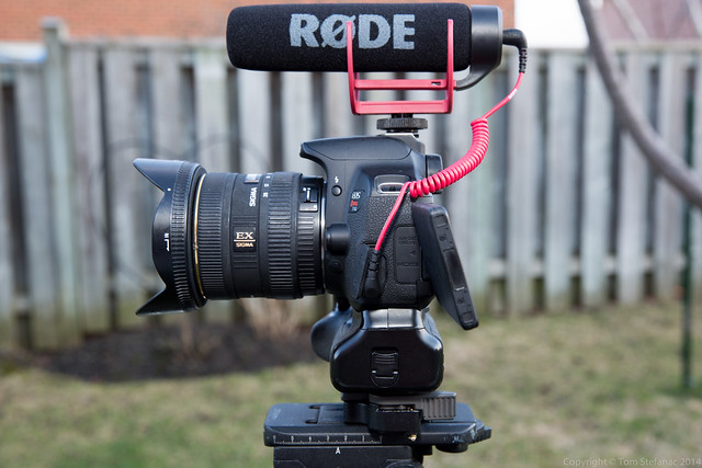 Left Side - Canon T4i + Rode VideoMic GO
