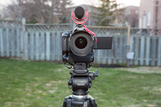 Canon T4i + Rode VideoMic GO