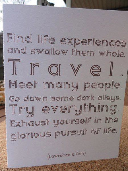 travel inspiration traveling make happier person