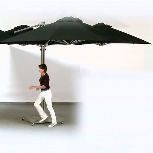 1-Do not stay under the umbrella in heavy weather