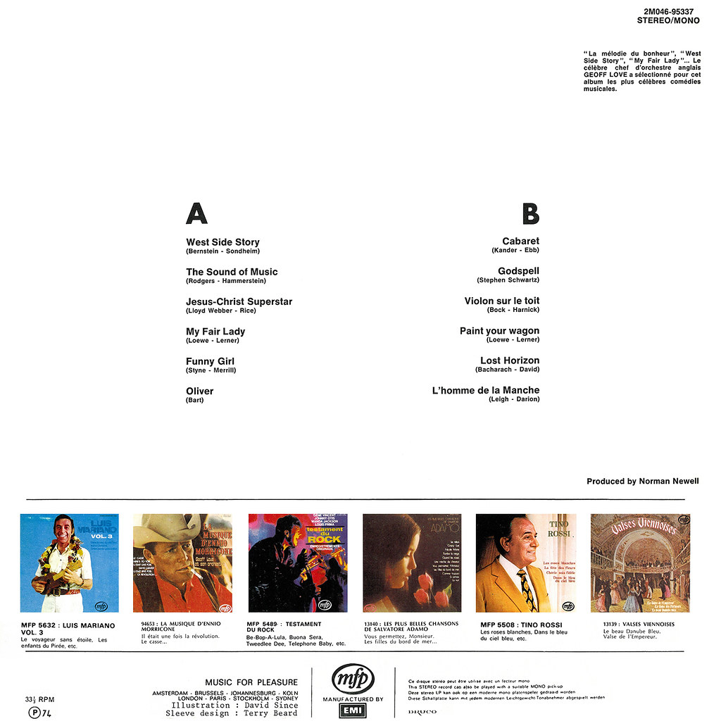 Geoff Love - Big Musical Movie Themes