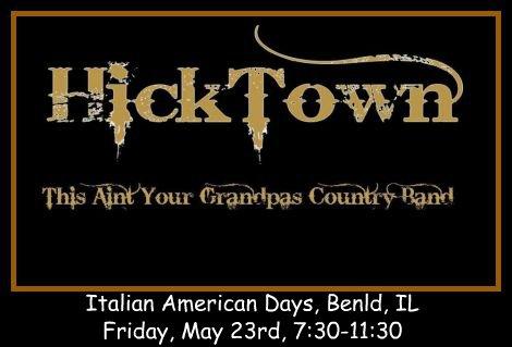 Hicktown 5-23-14