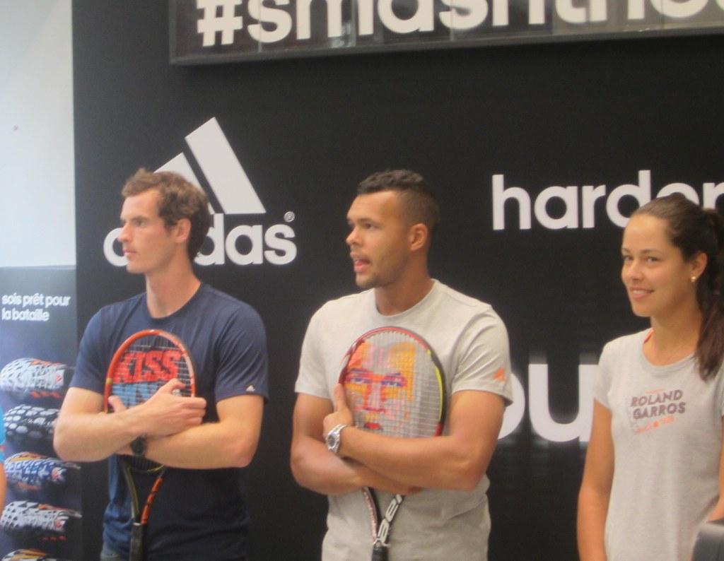 adidas smashthesilence event