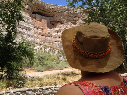Dachary at Montezuma Castle