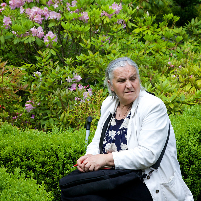 botanic garden employee. lviv, Ukraine