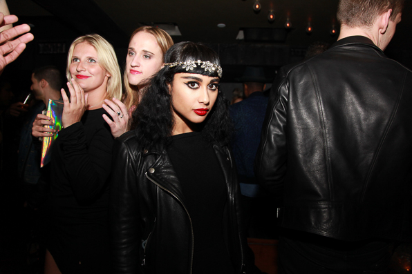 Natalia Kills at the 2014 Paper Magazine Beautiful People party