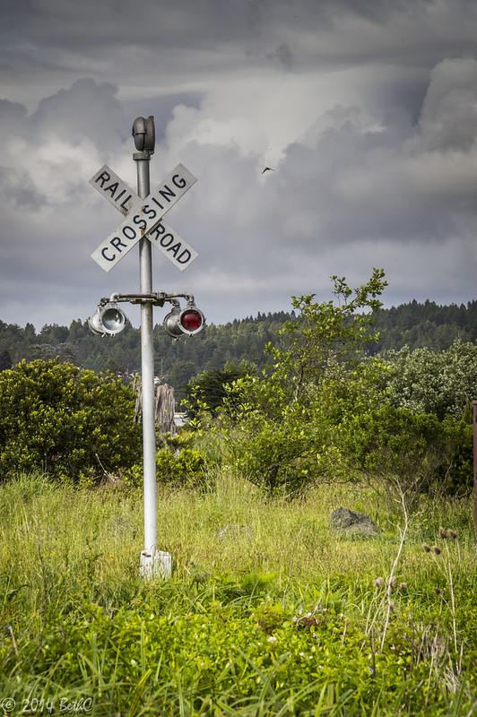123/365 Railroad Crossing