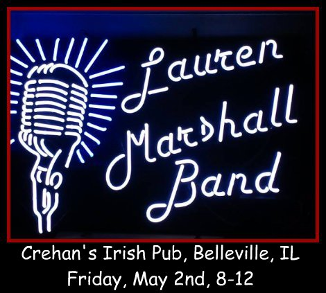 Lauren Marshall Band 5-2-14