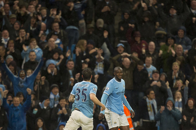 Yaya Toure scores gorgeous goal for Manchester City