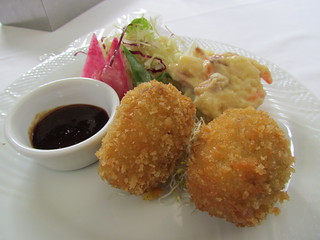 Chaya - Croquettes with Potato Salad