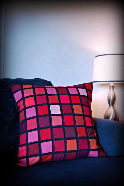 City Grid Pillow