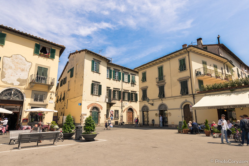 in Lucca, Italy